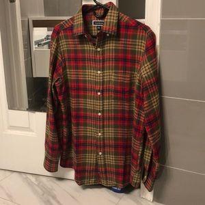 NWT Men's Club Room Flannel Button Down Shirt